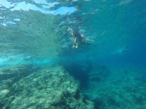 spiaggia sub